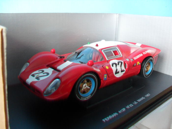 eagle 39 s race scale 1 18 ferrari 412 p 22 39 39 scuderia filipinetti 39 39 le mans 1967 catawiki. Black Bedroom Furniture Sets. Home Design Ideas