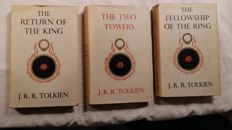 J.R.R. Tolkien - The Lord of The Rings - 3 volumes - 1957