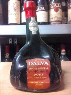 Dalva Porto House Reserve, Over 40 years old Tawny Port - bottled in 1972