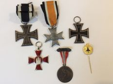 Iron Cross 1914 2nd class 1914 for fighters