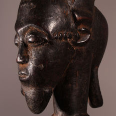 Altar statue of the BAOULE Blolo Bian Ivory Coast