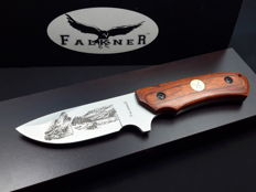Falkiner Knife - Collection hunting knife with box