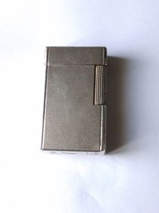 St Dupont-Paris lighter, line 1-Br, large model - silver
