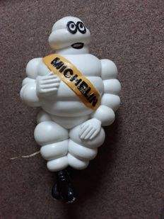 Michelin - Bibendum - large figure 45 cm high - with adjustable support