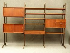 Simplalux - mid-century modern shelving unit