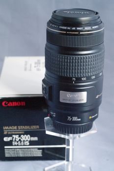 Canon Zoom Lens EF 75-300mm f/4-5.6 IS ( ultrasonic) - Image Stabilizer