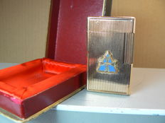 Gold plated Dupont lighter