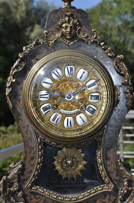 Inlaid decorative clock - Matelot Liege - 19th century