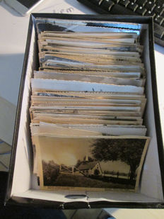 Belgium, lot of 319 old postcards