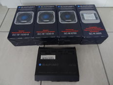 6 x speakers Blaupunkt 3-way Sound Component System unused NOS Vintage very rare Porsche 928 924 944 and others