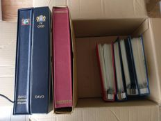 Suriname and former colonies 1870/1990 – Batch in 7 books