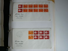 The Netherlands 1964/1994 - Collection of Stamp booklets on FDC