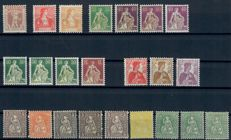 Switzerland, 1870-1941 - collection on cards
