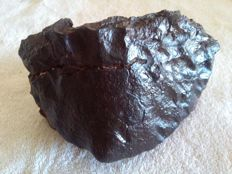 Oriented Chondrite - NWA unclassified - with fusion crust - 3.7 kg