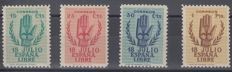 Spain 1938 - 2nd Anniversary of the National Uprising - Edifil 851/854