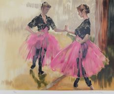 Pierre Letellier (1928-2000) - Ballerinas