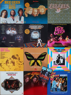 Grand Collection Bee Gees: 11 Albums (12 LP's). Bonus: DVD Live By Request.