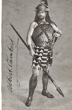 Old French postcard, Comédie française, year 1920