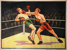 Willsons - Boxing poster - 1930s