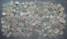 Poland - Lot of 235 coins - XVII-XIX century - Polish territories