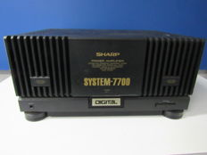 Sharp SM-7700H power amplifier