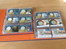 The Netherlands - collection of coin cards 2004/2016 (60 pieces) in two albums