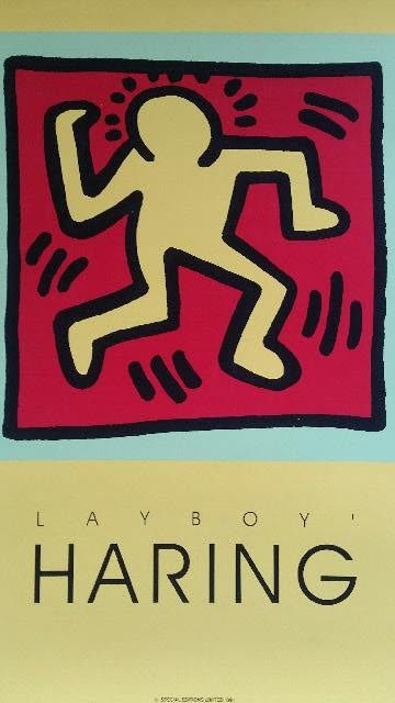 Keith Haring - Playboy - yellow edition