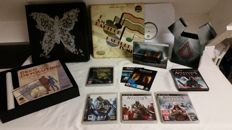 Assasins Creed 1, 2, Brothershood, Revelation Collector Edition. Also Bioshock Special edition!