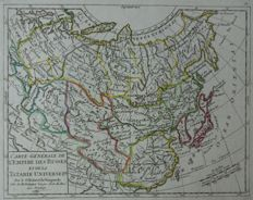 Russia, Moscow; o.a. Vaugondy / n.n - 6 maps - 18th/19th century