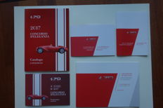 Ferrari 70 years celebration brochures