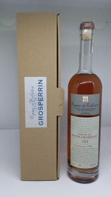 Very old cognac Grosperrin - Lot 474 -  vintage 1973