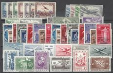 Belgium - Airmail stamps - OBP PA1/PA35 and PA10A/PA11A