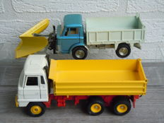Dinky Toys - Schaal 1/48 - Ford D800 Snow Plough, Foden Tipping Lorry No.439 & 432