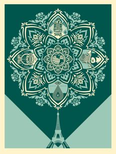 Shepard Fairey (OBEY) - Delicate Balance 2