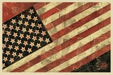 Shepard Fairey (OBEY) - Flag