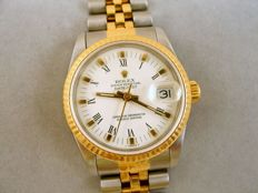 Rolex Datejust 18 kt gold stainless steel automatic movement