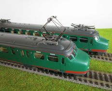 "Lima H0 - 149703 - Four-piece electric train set Mat' 54, ""Hondekop-Bloedneus"", of the NS"