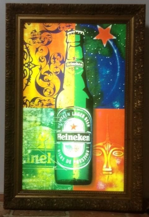 HEINEKEN neon sign for bars - very rare!
