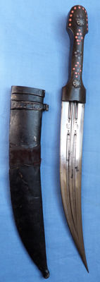 Late-19th Century Turkish Kindjal Jambiya-type Dagger