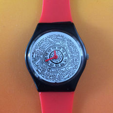 Artistictac / Limited edition - art watch with design after Keith Haring
