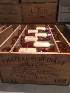 1995 Chateau Suduiraut, Sauternes, Grand Cru Classe - 12 bottles (75cl) in OWC
