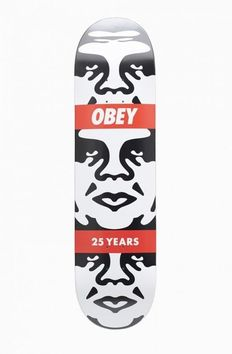 Shepard Fairey (OBEY) - Andre 3 Face Limited Edition Skateboard Deck | 25 Year Edition