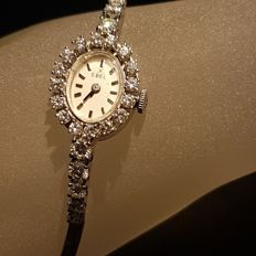 EBEL ladies' watch with diamonds -