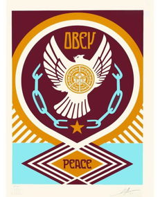 Shepard Fairey (OBEY) - Peace Series 2 - Doves