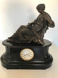 Large notaire clock made by Lay Cherfils Jouffroy – PARIS early 20th