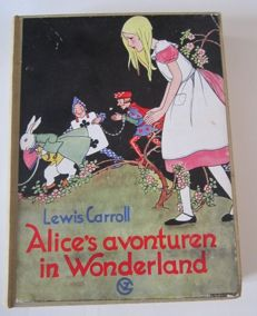 Lewis Carroll - Alice's avonturen in wonderland - 1934