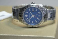 Versace Hellenyium GMT 2nd Time zone - men's watch, never worn