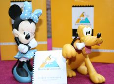 Disney, Walt - 2 figures/ statuettes Démons & Merveilles - Minnie Mouse and Pluto