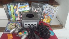 Nintendo Game cube + 12 games like Mario Kart