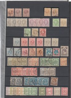 Curaçao - Batch starting from classic, including postage due stamps